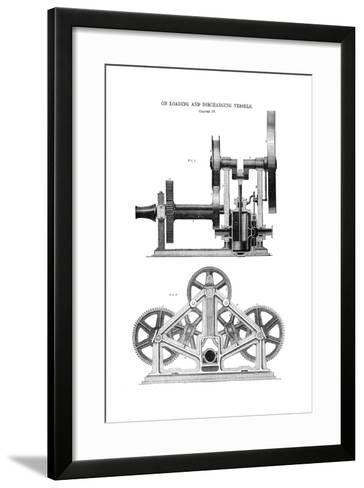 Steam Whipping Engine--Framed Art Print