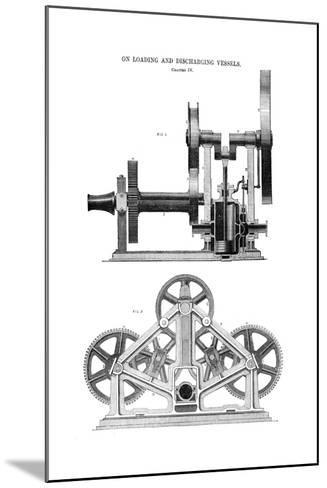 Steam Whipping Engine--Mounted Giclee Print
