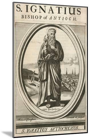 Ignatius Theophorus--Mounted Giclee Print