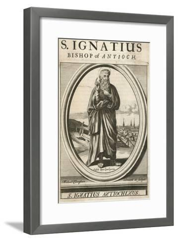 Ignatius Theophorus--Framed Art Print