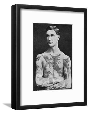 Tattooed Masterpiece by Mr. Sutherland Macdonald of Jermyn St--Framed Art Print