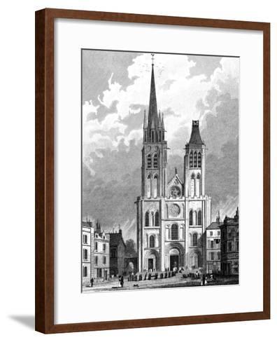Paris, France - Saint Denis--Framed Art Print