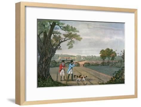 Partridge Shoot 1830--Framed Art Print
