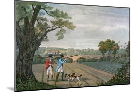 Partridge Shoot 1830--Mounted Giclee Print