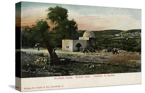 Rachel's Tomb, Near Bethlehem--Stretched Canvas Print