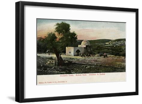 Rachel's Tomb, Near Bethlehem--Framed Art Print