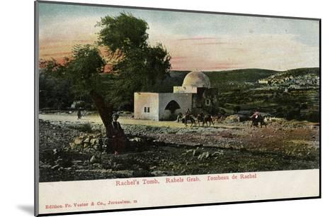 Rachel's Tomb, Near Bethlehem--Mounted Giclee Print