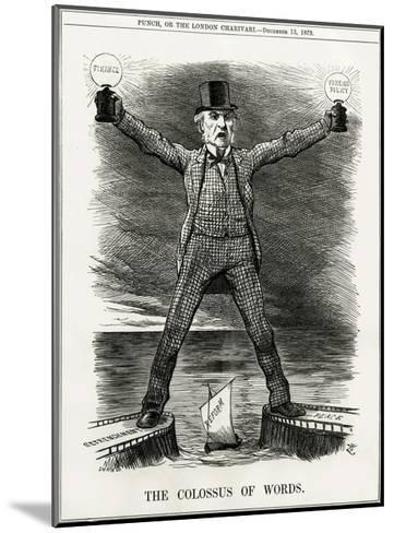 We Gladstone, Colossus--Mounted Giclee Print