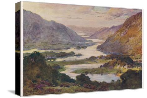 Ireland Killarney Lakes-A Heaton Cooper-Stretched Canvas Print