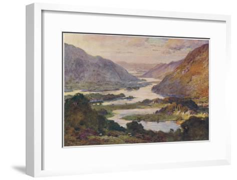 Ireland Killarney Lakes-A Heaton Cooper-Framed Art Print