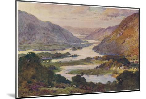 Ireland Killarney Lakes-A Heaton Cooper-Mounted Giclee Print