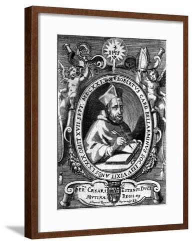Roberto Bellarmino-Alberto Roncus-Framed Art Print