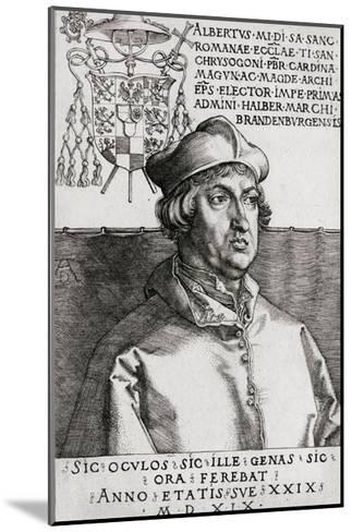 Albertus Magnus-Albrecht D?rer-Mounted Giclee Print