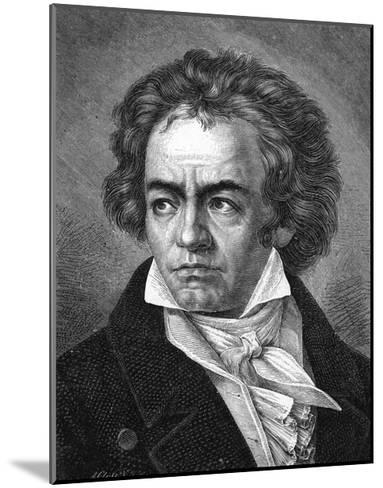 Beethoven-A Close-Mounted Giclee Print