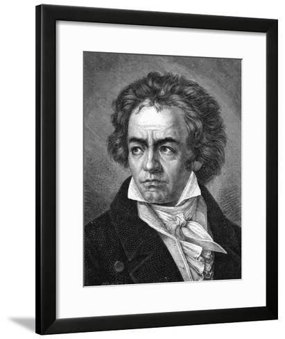 Beethoven-A Close-Framed Art Print
