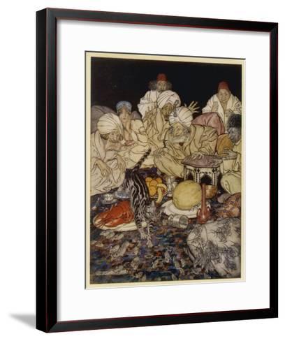 Dick Whittington-Arthur Rackham-Framed Art Print