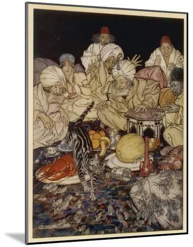 Dick Whittington-Arthur Rackham-Mounted Giclee Print