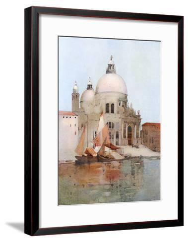Venice, S Maria Salute-Arthur Melville-Framed Art Print