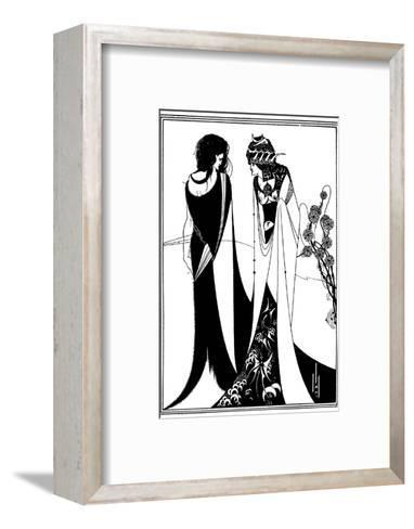 Play, Wilde, Beardsley-Aubrey Beardsley-Framed Art Print