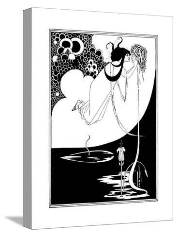 The Climax-Aubrey Beardsley-Stretched Canvas Print