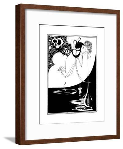 The Climax-Aubrey Beardsley-Framed Art Print