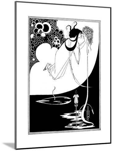 The Climax-Aubrey Beardsley-Mounted Giclee Print