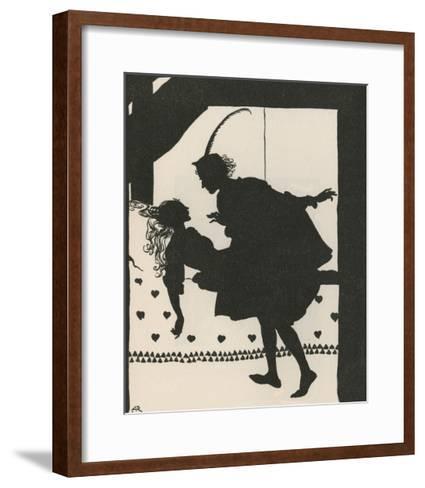 Sleeping Beauty-Arthur Rackham-Framed Art Print