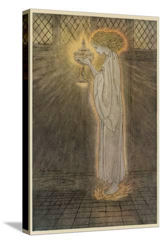 Concepts, Sangrael-Arthur Rackham-Stretched Canvas Print