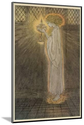 Concepts, Sangrael-Arthur Rackham-Mounted Giclee Print