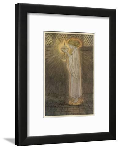 Concepts, Sangrael-Arthur Rackham-Framed Art Print