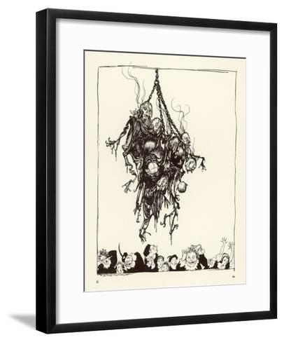 Hop Frog-Arthur Rackham-Framed Art Print
