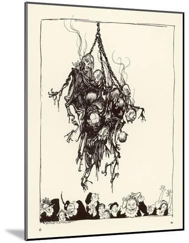 Hop Frog-Arthur Rackham-Mounted Giclee Print