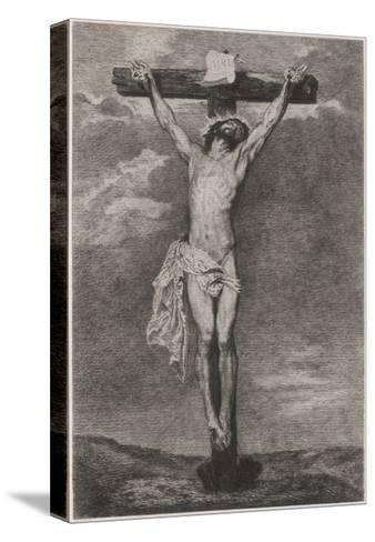 Jesus on Cross Vandyck-Sir Anthony Van Dyck-Stretched Canvas Print