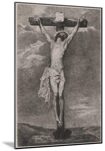Jesus on Cross Vandyck-Sir Anthony Van Dyck-Mounted Giclee Print