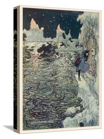 The Seven Ravens 2-Arthur Rackham-Stretched Canvas Print