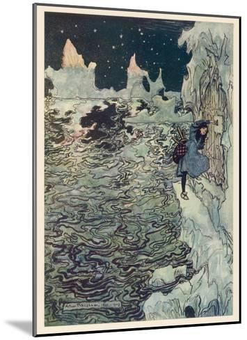 The Seven Ravens 2-Arthur Rackham-Mounted Giclee Print