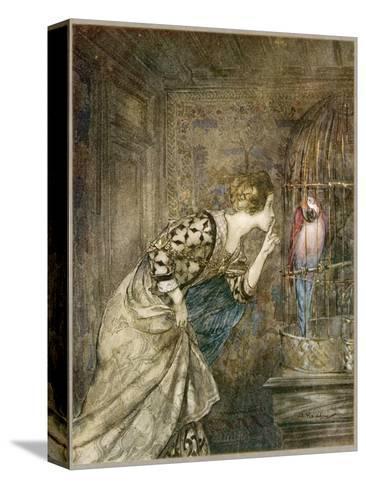 Ballad, May Colven-Arthur Rackham-Stretched Canvas Print