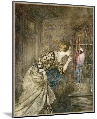 Ballad, May Colven-Arthur Rackham-Mounted Giclee Print