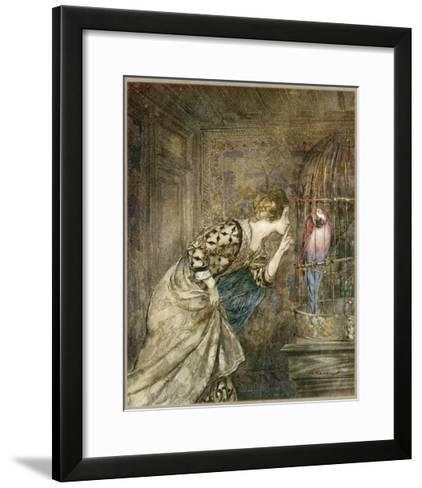 Ballad, May Colven-Arthur Rackham-Framed Art Print