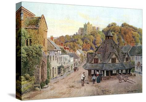 Dunster, Somerset 1912-AR Quinton-Stretched Canvas Print