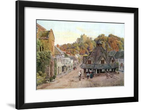 Dunster, Somerset 1912-AR Quinton-Framed Art Print