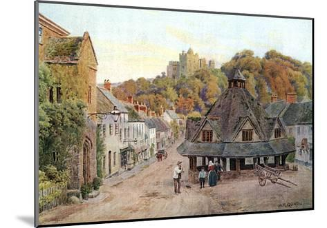 Dunster, Somerset 1912-AR Quinton-Mounted Giclee Print