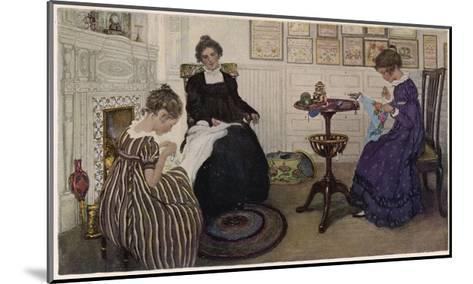 Social, US Sewing Room-Anna Whelan Betts-Mounted Giclee Print