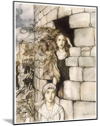 Maid Maleen, Rackham-Arthur Rackham-Mounted Giclee Print