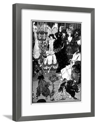 The Toilet of Helen-Aubrey Beardsley-Framed Art Print
