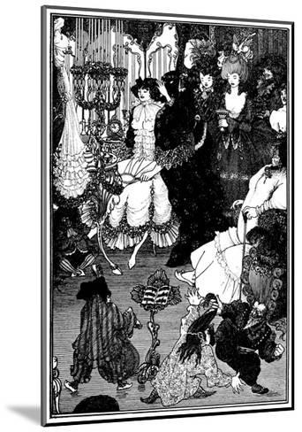 The Toilet of Helen-Aubrey Beardsley-Mounted Giclee Print
