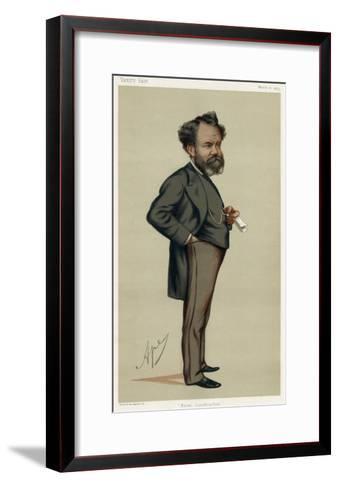 Sir Edward Reed, VFair 75-Carlo Pellegrini-Framed Art Print