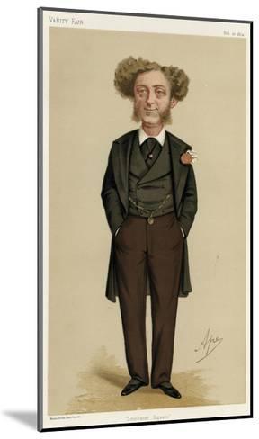 Albert Grant, Vanity Fair-Carlo Pellegrini-Mounted Giclee Print