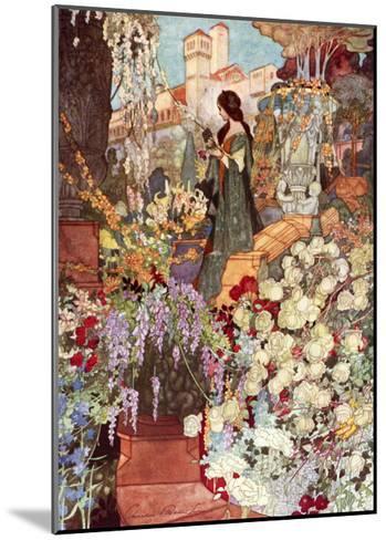 The Sensitive Plant, Robinson-Charles Robinson-Mounted Giclee Print
