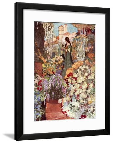 The Sensitive Plant, Robinson-Charles Robinson-Framed Art Print